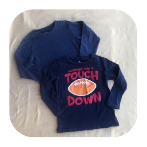 2 Children's Place long sleeve T-shirts 5T